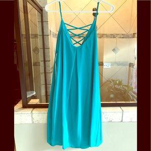 Turquoise dress - NWT
